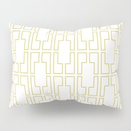 Simply Mid-Century in Mod Yellow Pillow Sham