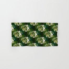 Hills-of-snow hydrangea pattern Hand & Bath Towel