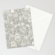pencil pinatas ivory Stationery Cards