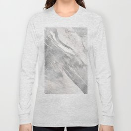 Castello silver marble Long Sleeve T-shirt