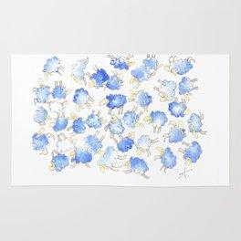 Little blue sheeps Rug