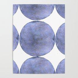 Inner Circle blue shade Poster