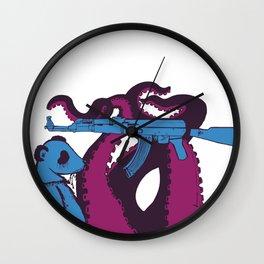 Make Panda. Not War. Wall Clock