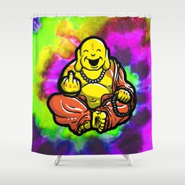 F U Buddha Shower Curtain