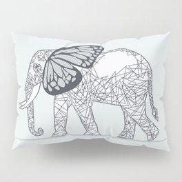 C13D Butterfly Elephant Pillow Sham