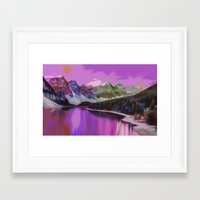 river Framed Art Prints featuring River by Asya Solo