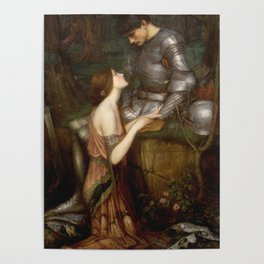 John William Waterhouse - Lamia Poster