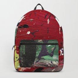 De Kooning Close Up 33nArt Backpack