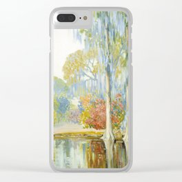 Alfred Hutty - Magnolia Gardens, 1920 Clear iPhone Case