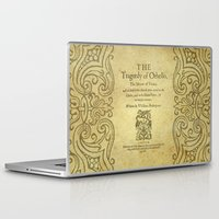 shakespeare Laptop & iPad Skins featuring Shakespeare. Othello, 1622. by BiblioTee