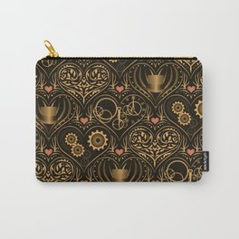Steampunk Romance Carry-All Pouch
