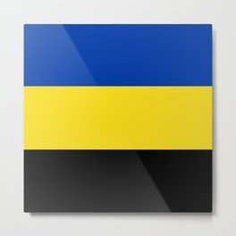 Flag of Gelderland Metal Print