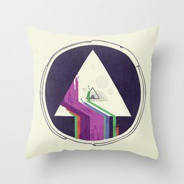 Portal Study Throw Pillow
