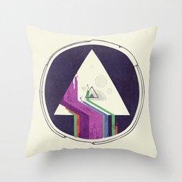 Portal Study Throw Pillow