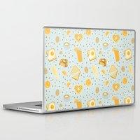 breakfast Laptop & iPad Skins featuring Breakfast by Ambi Sweetie Pie