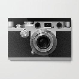 Classic Camera Illustration Metal Print