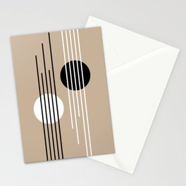 Passerby - Lines and Curves - Set 2 Stationery Cards