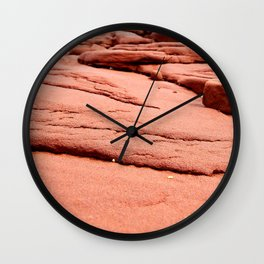 Red Sandstones of PEI Wall Clock