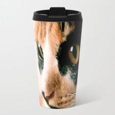 Thinking Cat Travel Mug