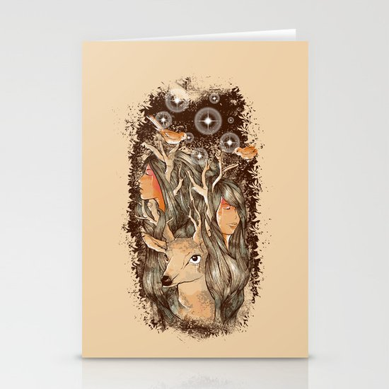 Tears of the Keeper Stationery Cards