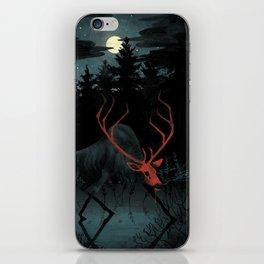 Red Elk iPhone Skin