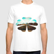 All the colors of mother nature Mens Fitted Tee MEDIUM White