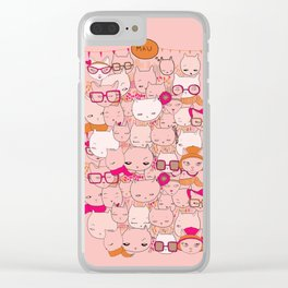 Cats&Cats Clear iPhone Case