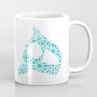 arabic Mugs featuring Arabic ﻫ by Iman B.