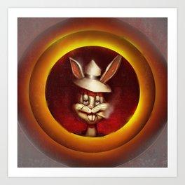 Bad Rabbit Art Print