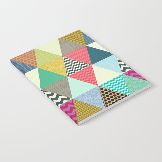 New York Beauty triangles Notebook