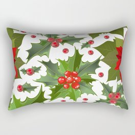 Christmas berry pattern Rectangular Pillow