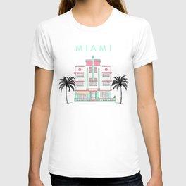 Miami Art Deco Vibes T-shirt