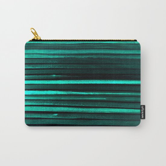We Have Cold Winter Teal Dreams At Night Carry-All Pouch