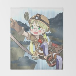 Riko - Made In Abyss Throw Blanket