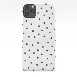 Black Cats Polka Dot iPhone Case