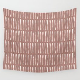 nordic °2: russet Wall Tapestry