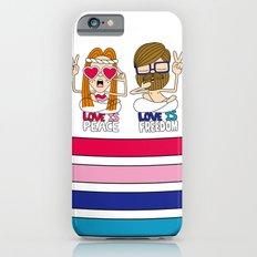 LOVEISPEACE&FREEDOM Slim Case iPhone 6s