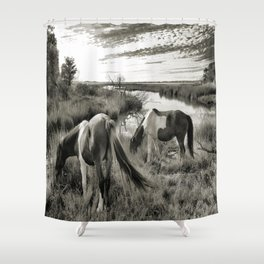 Amazin Grazin Shower Curtain