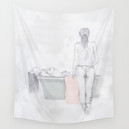 Figures Wall Tapestry