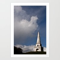 dublin Art Prints featuring Dublin by Brugha