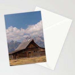 Moulton Barn Grand Teton National Park, Mormom Row Historic Area, Jackson Wyoming Photography Stationery Cards