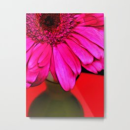 Bright Pink Efflorescence Metal Print