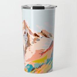 glass mountains Travel Mug