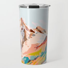 glass mountains Travel Mug