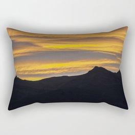 Mirador de Las Aguilas Viewpoint, Patagonia, Argentina Rectangular Pillow