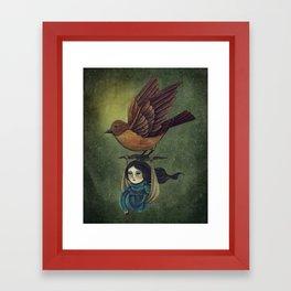 Midnight Travel Framed Art Print