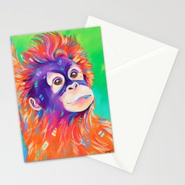 Orangutan Stationery Cards