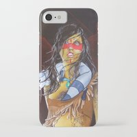 pocahontas iPhone & iPod Cases featuring pocahontas by marmaseo