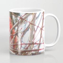 Chilly Cardinal 2 Coffee Mug