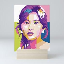 TWICE SANA Mini Art Print